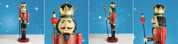 Lifesize Nutcracker With Sceptre
