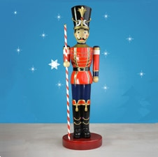 Lifesize Toy Soldier With Baton