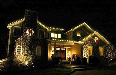 Residential Christmas Lighting