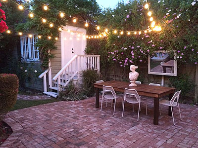 Outdoor Patio Lights and Party Themes