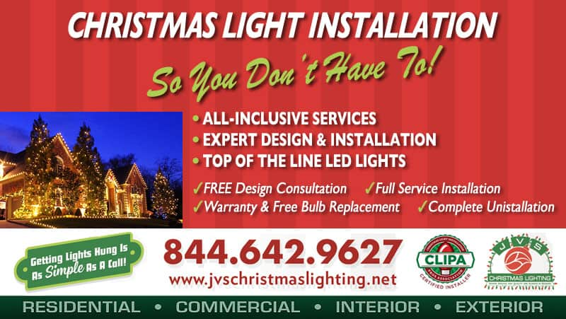 October Christmas Lighting Promotion