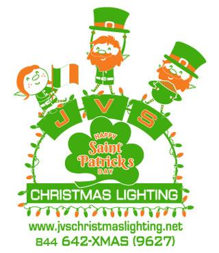 St. Patrick's Day Lighting