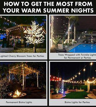 Summer Nights Lighting